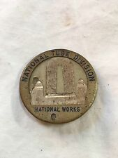 ( McKeesport, PA ) ~ National Tube Division of US Steel ~ Photo Badge