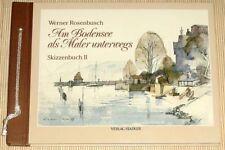 Am Bodensee als Maler Unterwegs unbekannter Einband – 1986