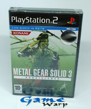 Metal Gear Solid 3 Subsistence (PS2) - ITA - NUOVO