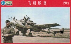Deutsche Luftwaffe/2. Weltkrieg/Militär/Jäger/Bomber -TK China CNC geb.02