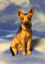 Htf Vintage Mini Royal Doulton Alsatian German Shepherd Dog Figurine K13 New