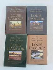 Lot 4 THE COLLECTED SHORT STORIES OF LOUIS L'AMOUR Frontier Adventure 1-4 Bantam