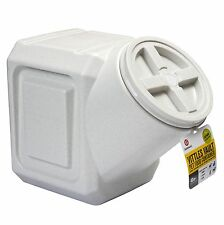 Pet Food Storage Dog Cat Stackable Container Bin Holder Holds 40 Lbs Airtight