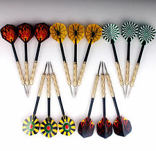 15 pcs of Steel Tips Darts Needle Point With Nice Dart Flights Indoor Games US