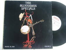 THE BLUEGRASS SPECIALS Volume 4 on Roots Recods Ferry Leitner Spontan Music Trio