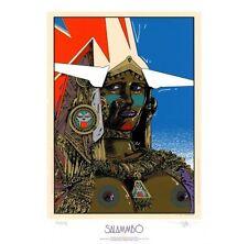 Sérigraphie, Druillet : Salammbô    50.0 × 70.0 cm