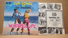 CLIFF RICHARD -WONDERFUL LIFE ED1.BLACK/BLUE COLUMBIA 33SX 1628 GR. BRITAIN