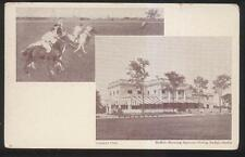 Postcard BUFFALO New York/NY  Golf Country Club Polo Grounds Dual view 1906