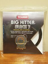 Tourna Big Hitter Black 7 German Co-Poly 17 Gauge 40 ft / 12 m Tennis String Set