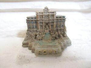 Rom Trevi Brunnen 4,5 cm Poly Modell Souvenir Italien Neu Roma