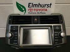 2010-2011 Toyota 4Runner Denso Navigation Unit Faceplate # E7028 Full Operation