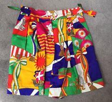 Escada Multi Colored Shorts Size 38 Womens Vintage Excellent