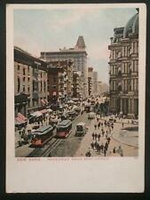 New York, Broadway Near Post Office, The PCK Series 132