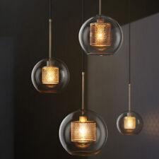 Modern Clear Glass Meal Pendant Light Art Decor Chandelier Ceiling Light Fixture