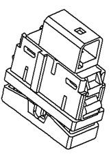 VAUXHALL Interruptor-ORIGINAL-13400625