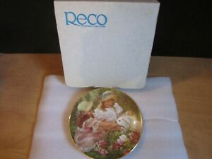 """""""EASTER MORNING VISITOR"""" By Sandra Kuck--Plate#2951EM-Limited Edition-With Box"""