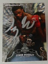 Tyron Woodley Signed UFC 2012 Topps Bloodlines Card 85 Autograph 183 171 167 156