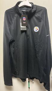 Pittsburgh Steelers Nike Core Half Zip Pullover Jacket NWT Women 2XL Dri-Fit