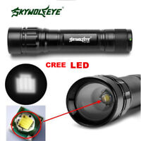 Tactical Flashlight Zoomable 30000lm 3 Modes T6 LED 18650 Camp Torch Lamp Light