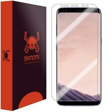 Skinomi Clear Screen Protector For Samsung Galaxy S8 Full Screen MAX COVERAGE
