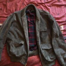 Ralph Lauren Vintage Leather Jacket Large Mens