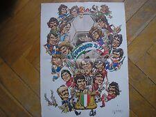GUERIN SPORTIVO EXTRA 1977 CAMPIONATO 76/77 POSTER SCUDETTO TORINO JUVENTUS