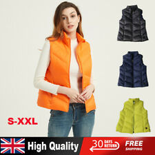 Vest Heated Cloth Jacket Heating Body Warmer Women Sleeveless Down Gilet Ladies