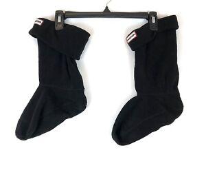 Hunter Women's Black Short Boot Socks Size Large (8-10)