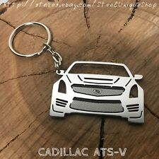Cadillac ATS-V Stainless Steel Keychain