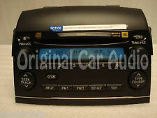 05-09 TOYOTA Sienna XLE Radio JBL Stereo 6 Disc Changer MP3 CD Player P1816 OEM