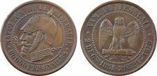 Napoléon III, module 2 francs,  satirique type A, guerre 1870 -  1