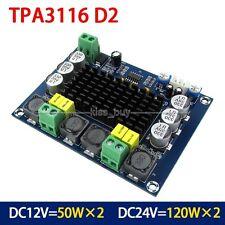DC 12V 24V 120W*2 TPA3116 digital Power audio amplifier board amp car Verstärker