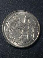 Western Sahara 1992  1 peseta  copper-nickel  17mm circulated coin...