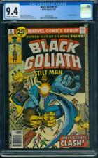 Black Goliath #4 CGC 9.4 OW/WH (Stilt-Man app)