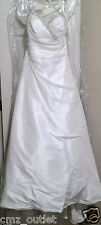 Alfred Angelo WEDDING DRESS- Style #1130 - Size 10 - Strapless - Ivory