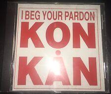 Kon Kan I Beg Your Pardon Remixes 1988 2 Track Promo CD Barry Harris Thunderpuss