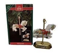 1992 Hallmark Keepsake Ornament Tobin Fraley Carousel Horse
