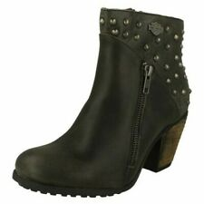 Ladies Harley Davidson Wexford Heeled Ankle Boots