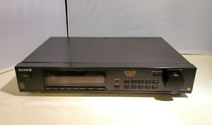 Sony ST-S550ES AM/FM Tuner 550ES, Mono/Stereo, Sony ES Made in Japan - TESTED
