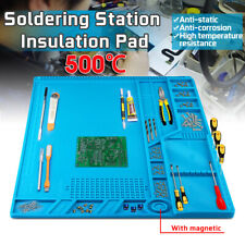 55x35cm Magnetic Heat Insulation Silicone Pad Mat Platform For Soldering