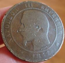 Monnaie Napoléon III 10 centimes 1857 K (assez rare)