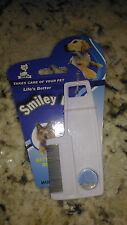 Comb for dogs and cats anti fleas and ticks dog cat flea smiley