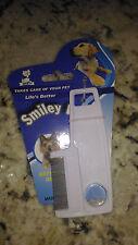 Pettine per cani e gatti anti pulci e zecche cane gatto smiley di pulce