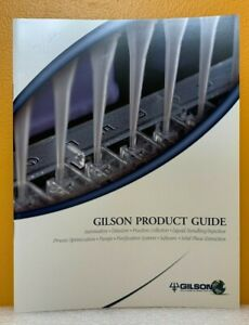 Gilson Product Guide March 2002 Catalog.