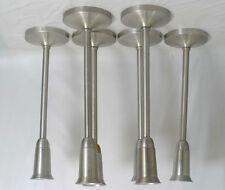 6 zeitgenössische Deckenlampen Aluminium Strahler Porzellanfassung