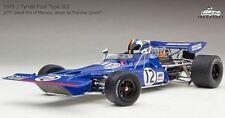 Exoto 1/18 Tyrrell Ford 002 Blade Nose #12 1971 Monaco Francois Cevert GPC97027