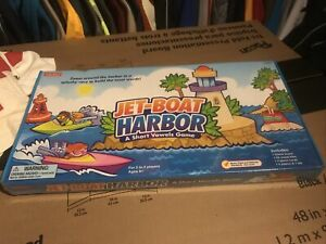 Jet-boat Harbor Borad Game