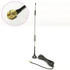 433Mhz wireless module antenna 10dbi high gain sucker aerial 3M cable SMA #2