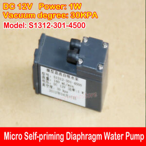 Micro Mini Self-priming Pump DC 12V 140ML/min 1W Mute Diaphragm Water Pump DIY