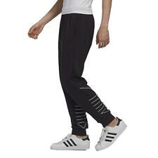 Pantalones de Chándal adidas Originales Hombre GF0223 Negro Black Trefoil Blanco